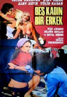 Beş Kadın Bir Erkek Türk Sex Filmi