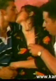 Yatak Odasında Grup Türk Sex Filmi